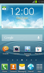 Samsung I8190 Galaxy S III Mini - E-mail - Manual configuration - Step 1