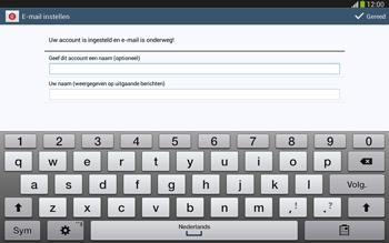 Samsung P5220 Galaxy Tab 3 10-1 LTE - E-mail - e-mail instellen: POP3 - Stap 19