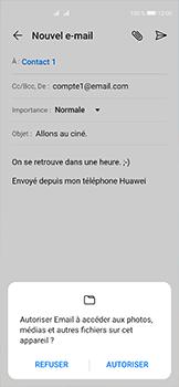 Huawei P40 - E-mails - Envoyer un e-mail - Étape 11