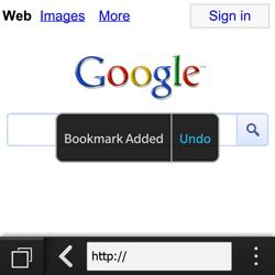 BlackBerry Q10 - Internet - Internet browsing - Step 6
