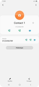 Samsung Galaxy A80 - Contact, Appels, SMS/MMS - Ajouter un contact - Étape 9