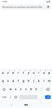 Google Pixel 3a - Internet et connexion - Naviguer sur internet - Étape 7