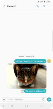 Samsung Galaxy S9 Plus - MMS - Sending pictures - Step 19