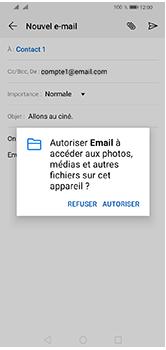 Huawei Y5 (2019) - E-mails - Envoyer un e-mail - Étape 12