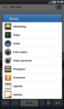 Samsung P1000 Galaxy Tab - MMS - hoe te versturen - Stap 7