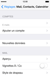 Apple iPhone 4S iOS 7 - E-mail - configuration manuelle - Étape 18