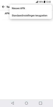 LG Q6 - internet - handmatig instellen - stap 8