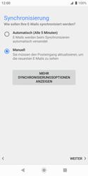 Sony Xperia XZ2 Compact - Android Pie - E-Mail - Konto einrichten - Schritt 19