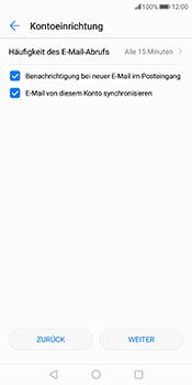 Huawei Mate 10 Pro - E-Mail - Konto einrichten - Schritt 17
