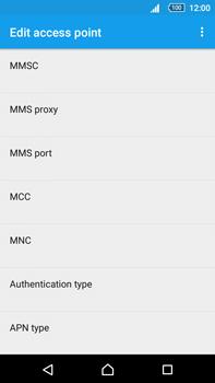 Sony Xperia Z5 Premium (E6853) - MMS - Manual configuration - Step 14