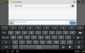 Samsung P5100 Galaxy Tab 2 10-1 - MMS - Erstellen und senden - Schritt 10