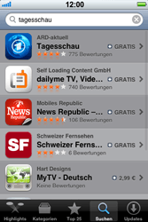 Apple iPhone 3GS - Apps - Herunterladen - 0 / 0