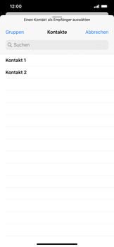 Apple iPhone XS Max - iOS 13 - E-Mail - E-Mail versenden - Schritt 5