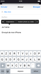 Apple iPhone 6 iOS 8 - E-mails - Envoyer un e-mail - Étape 10