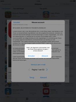 Apple iPad mini iOS 9 - Applicaties - Account aanmaken - Stap 11