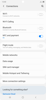 Samsung Galaxy Note 20 Ultra 5G - Internet and data roaming - How to check if data-connectivity is enabled - Step 5