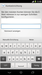 Sony Xperia Z1 - E-Mail - Konto einrichten - 6 / 20
