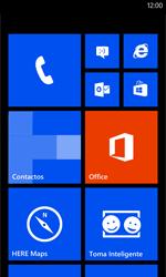 Nokia Lumia 520 - Internet - Configurar Internet - Paso 1