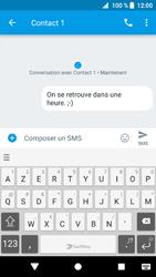 Sony Xperia XZ1 - Contact, Appels, SMS/MMS - Envoyer un SMS - Étape 9