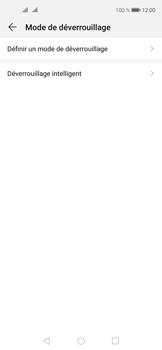 Huawei Nova 5T - Sécuriser votre mobile - Activer le code de verrouillage - Étape 5