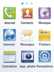 Samsung C3300K - SMS - Configuration manuelle - Étape 3
