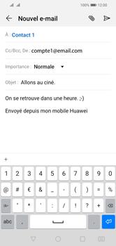 Huawei Y5 (2019) - E-mail - envoyer un e-mail - Étape 9