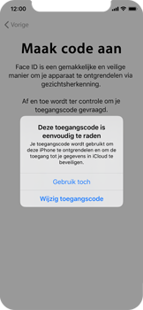 Apple iphone-x-met-ios-13-model-a1901 - Instellingen aanpassen - Nieuw toestel instellen - Stap 20