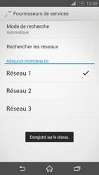 Sony Xperia Z3 Compact - Réseau - Sélection manuelle du réseau - Étape 10