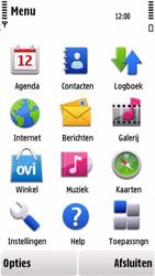 Nokia 5230 - e-mail - handmatig instellen - stap 3
