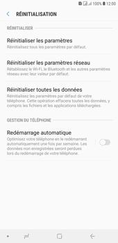 Samsung Galaxy J4+ - Aller plus loin - Restaurer les paramètres d'usines - Étape 6