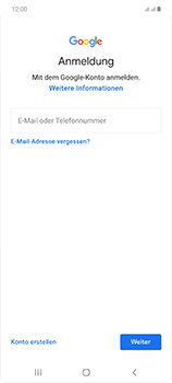 Samsung Galaxy Note 20 5G - Apps - Einrichten des App Stores - Schritt 5