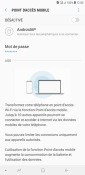 Samsung Galaxy J4+ - Internet et connexion - Partager votre connexion en Wi-Fi - Étape 7