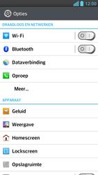 LG P760 Optimus L9 - wifi - handmatig instellen - stap 4