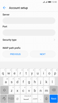 Huawei Mate 9 Pro - Email - Manual configuration IMAP without SMTP verification - Step 10