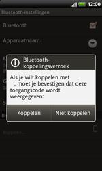 HTC S510b Rhyme - bluetooth - headset, carkit verbinding - stap 9