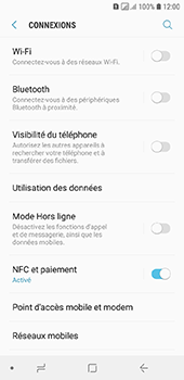 Samsung Galaxy A6 - Internet - comment configurer un point d'accès mobile - Étape 5