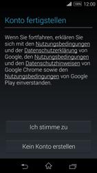Sony Xperia E3 - Apps - Konto anlegen und einrichten - 16 / 25