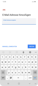 Samsung Galaxy S20 Plus 5G - E-Mail - Manuelle Konfiguration - Schritt 10