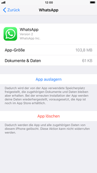 Apple iPhone 6s Plus - Apps - Apps deinstallieren - 6 / 8