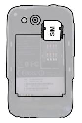 HTC A510e Wildfire S - SIM-Karte - Einlegen - Schritt 3