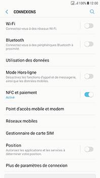 Samsung Galaxy J7 (2017) - Réseau - Changer mode réseau - Étape 5