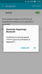 Samsung Galaxy A5 (2016) (A510F) - Bluetooth - Jumelage d