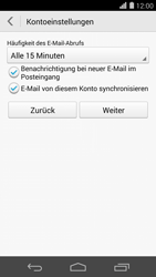 Huawei Ascend P7 - E-Mail - Konto einrichten - Schritt 19