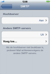 Apple iPhone 4 S - E-mail - e-mail instellen: POP3 - Stap 11