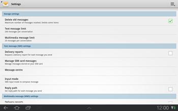 Samsung P7500 Galaxy Tab 10-1 - SMS - Manual configuration - Step 5