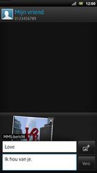 Sony LT22i Xperia P - MMS - Afbeeldingen verzenden - Stap 14