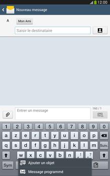 Samsung Galaxy Tab 3 8 4G - Contact, Appels, SMS/MMS - Envoyer un MMS - Étape 10