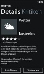 Nokia Lumia 800 - Apps - Konto anlegen und einrichten - 21 / 22