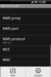 HTC A6262 Hero - MMS - Manual configuration - Step 12
