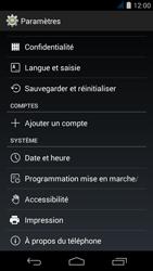 Acer Liquid Jade S - Téléphone mobile - réinitialisation de la configuration d